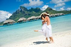 Bora Bora weddings ~ Exotic Place In The World