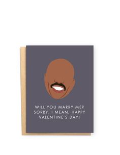 Hilarious Steve Harvey Valentine's Card