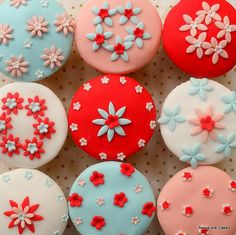 Imaginative use of just a couple of plunger cutters to make lots of different designs.