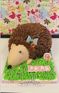 Sweet Hedgehog 9th Birthday | Blue Note Bakery - Austin, Texas