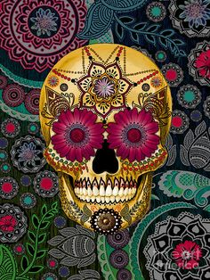 Awesome - sugar skull