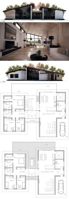 find this pin and more on dream house - Modern Home Designs Floor Plans