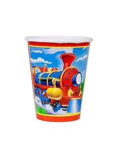 Train Party Cups