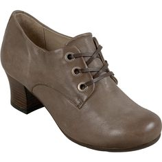Miz Mooz Fantina Women's Pump Heel ($98) ❤ liked on Polyvore featuring shoes, pumps, rock, black mid heel pumps, black oxford pumps, miz mooz oxfords, black heel pumps and miz mooz shoes