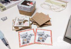 Inspiration&Art Memory Spiel Produktpaket Ausgefuchst Calypso Fuchsstanze