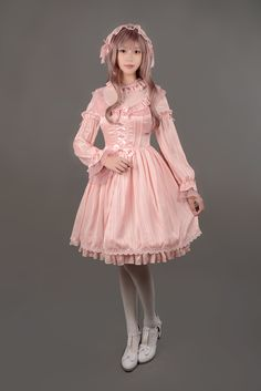 Fancy Dream One Piece - $71.99 : Soufflesong,An Indie Lolita Fashion ,Gothic Vintage Brand