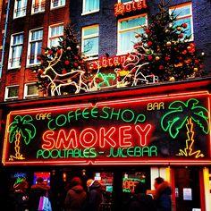 Coffeeshop Smokey in Amsterdam, Noord-Holland