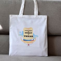 Items similar to Texas Tote Bag. Perfect Gift For Texas Lovers. Cotton Made. on Etsy Online Check, Etsy Store, Texas, Reusable Tote Bags, Trending Outfits, Unique Jewelry, Handmade Gifts, Shop, Beautiful