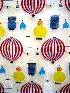"Stig Lindberg ""Pottery"" Fabric"