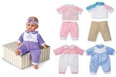 Change My Clothes Baby Doll with 5 Outfits - Girls Toys