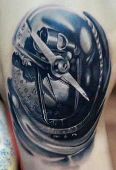 Tattoo Artist - A.d. Pancho - time tattoo