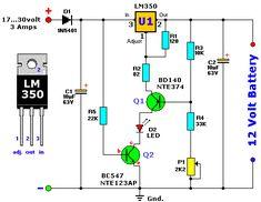 Зарядное устройство для свинцово-кислотных аккумуляторов. Вариант 1