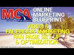 MCA Online Marketing Blueprint 6 - Facebook Marketing, How To Set Up & Optimize Your Facebook Page - http://downlinebuilderdirectblog.com/mca-online-marketing-blueprint-6-facebook-marketing-how-to-set-up-optimize-your-facebook-page/