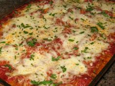 Saucy Baked Penne