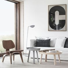Vitra LCW Eames Plywood Chair (http://www.nest.co.uk/product/vitra-lcw-plywood-chair) with Muuto Around Coffee Tables (http://www.nest.co.uk/product/muuto-around-coffee-table) and Muuto Leaf Floor Lamp (http://www.nest.co.uk/product/muuto-leaf-floor-lamp)