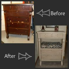 My second furniture redo!