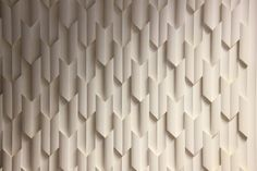 Contemporary decorative plaster houndstooth surface design
