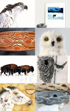 Wildlife by jcstrong on Etsy--Pinned with TreasuryPin.com These works are brought to you be the artists and artisans of Etsy.