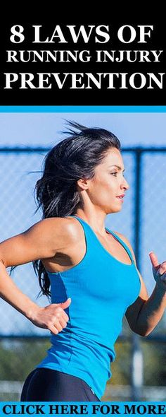 If you are a runner, then you need to abide to these 8 laws if you are serious about staying injury free and running your best.