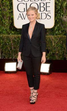 Golden Globes 2013 - Amy Poehler in Stella McCartney & Chopard | More lusciousness at mylusciouslife.com