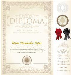 Diplomas Cetificados Gratis para Fotomontajes