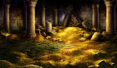 Treasure Room - Pictures & Characters Art - Dragons Crown
