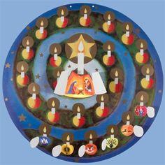 Advent Spiral Calendar