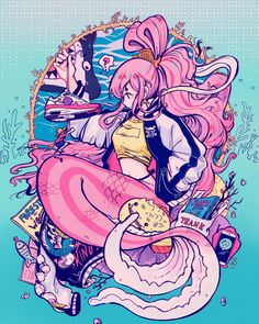 Crisalys is a Chilean artist interested in Illustration art. She describes herself as a Sneaker fan. She often emphasizes sneakers in her drawings. One Piece Anime, One Piece Fanart, Happy Teens, Character Art, Character Design, One Piece Drawing, Moe Anime, Cute Art Styles, Anime Characters