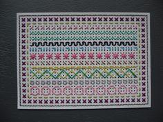 Learned how to sew this in primary school 😂Borduursteken leren!