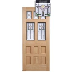LPD Doors Adoorable Oak Knightsbridge 5 Light Double Glazed Exterior/External Door - LPD Doors  sc 1 st  Pinterest & Back door Dooria Door | Front door | Pinterest | Front doors Back ... pezcame.com