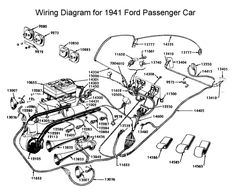 Wiring diagram for 1936 Ford | Wiring | Pinterest - Ford ...