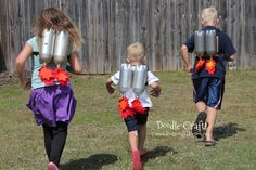 Jet Packs - Can't think of anything better for a 4 year old boy!