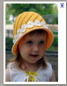 baby hat, crochet pattern
