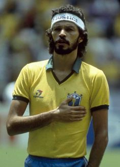 Socrates of Brazil. He was a super player.