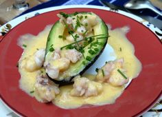 Utilizing lobster, avocado and grapefruit, this an absolutely wonderful,  elegant starter or side dish.