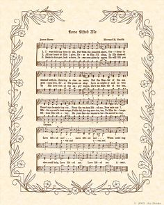 love lifted me.. so many memories attached to this hymn