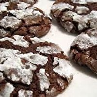 Chocolate Mint Snow-Top Cookies by Marilyn