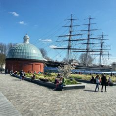 Cutty Sark. London Greenwich Sailing Ships, Taj Mahal, Boat, London, Building, Travel, Viajes, Buildings, Boats