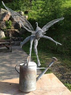Fairy Wire Sculpture by Fantasywire
