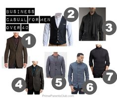 Men's Fashion Over 40 | Business Casual and What It Means Today ...