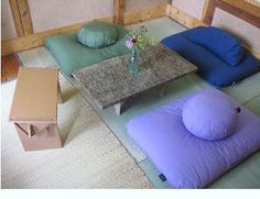 one day i'll have a little mediation room like this. :)