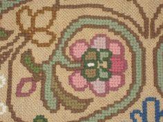 tapete de Arraiolos: alguns detalhes do tapete