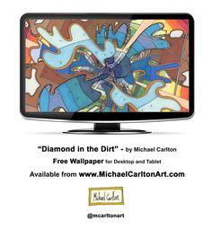 """Diamond in the Dirt"" - Hi-Res Wallpaper for Desktop and Tablet"
