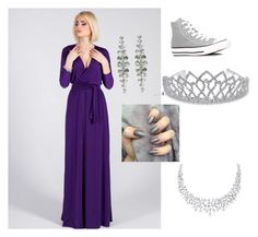 """""""MW"""" by acarlee ❤ liked on Polyvore featuring Converse and Bling Jewelry"""