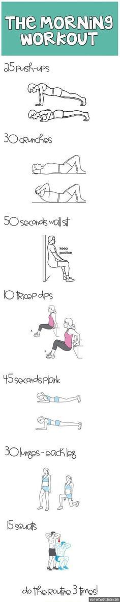 For gym skip days..