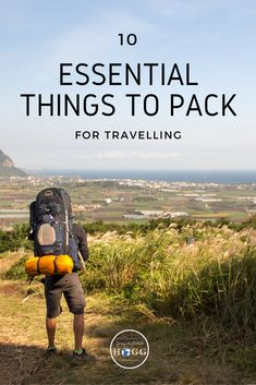 10 everyday essential things to pack for travelling anywhere in the world, for any length of time. Whether you're off on a weekend city break or a year long trip around the world, these are the things you'll use day in, day out. | travel packing | packing tips | packing list | backpacking tips | travel essentials | packing essentials | backpacking essentials #traveltips #packingtips #travel #packing #backpacking #travelling #traveller via @goingthewholehogg