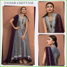 Zainab Chottani Luxury Pret & Formal Dresses 2016-2017 Collection | StylesGap.com