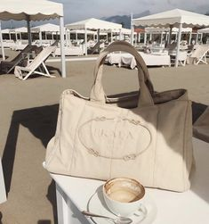 Shop Prada bags for women at Farfetch for classic styles including the nylon backpacks, Galleria tote and Cahier cross-body bags. Cream Aesthetic, Classy Aesthetic, Brown Aesthetic, Summer Aesthetic, Fashion Week, Fashion Bags, Fashion Fashion, Fashion Ideas, Fashion Clothes