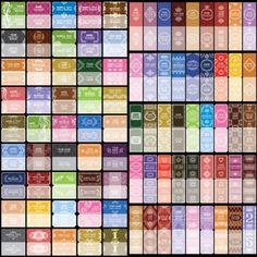 european pattern card background vector
