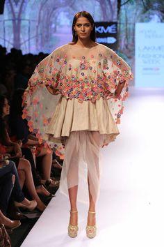 Arpita Mehta - Lakme Fashion Week Summer/Resort 2015 #peekaboo